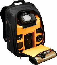 Case Logic 15.4-Inch Photo Camera Laptop Backpack Computer Bag Storage Case New
