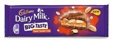 Cadbury Dairy Milk gran sabor-Caramelo maní crujientes 278g