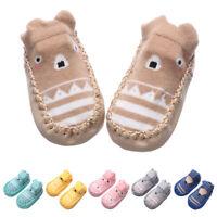 pour bébé Chaussure antidérapante Bottes pour enfants Bas de coton Baby shoes