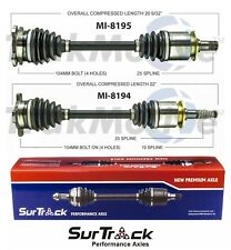 For Plymouth Lacer Eagle Talon AWD 92-94 Pair of Rear CV Axle Shafts SurTrack