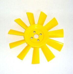 MINI & MOKE 11 BLADE YELLOW PLASTIC RADIATOR COOLING FAN
