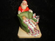 "Vintage 1982 Norman Rockwell ""Waiting For Santa"" Figurine - Free Shipping"