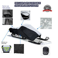 Deluxe YAMAHA RS VENTURE GT TRAILERABLE SNOWMOBILE SLED COVER