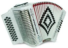 Montanari 3112 G Acordeon Mi Blanco Accordion EAD