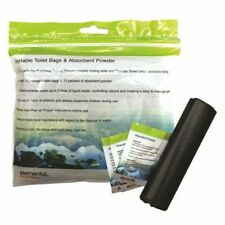 Elemental Portable Camping Toilet Bags & Absorbent Powder