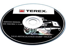 Terex TR35 Off-Highway Truck Parts Manual Book Catalog List