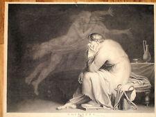 SOCRATES ATENE Filosofo Greco acquaforte originale