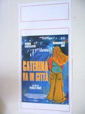 """LOCANDINA FILM """"CATERINA VA IN CITTÀ"""""""