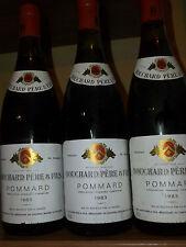 Bouchard pere et fils-pommard 1983 (3 bottle)