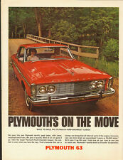 Plymouth '63~Chrysler Corporation/Red/4-door (090713)