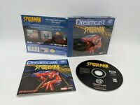 SPIDER-MAN - Sega Dreamcast (PAL/UK) Complete with Manual - FREE P&P -Spider Man