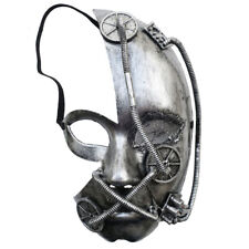 Steampunk Vintage Antique Full Face Venetian Masquerade Mask Costume Party Men