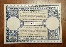 INTERNATIONAL REPLY COUPON - GREAT BRITAIN - 6D - Coupon-Reponse International
