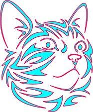 Tattoo inspired by Cat Kitten Stencil, 350 micron Mylar not thin stuff  #CAT002