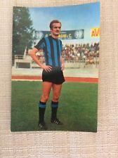 CARTOLINA CALCIO ANNI '60 SANDRO MAZZOLA INTER F.C. INTERNAZIONALE
