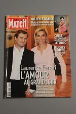 PARIS MATCH N°3124 AVRIL 2009 LAURENCE FERRARI MICHELLE OBAMA AUDREY TAUTOU