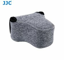 JJC OC-F2BG Neoprene Soft Pouch for FUJIFILM Olympus Mirrorless Camera + Lens