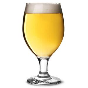Misket Chalice Beer Glasses 14oz / 400ml - Set of 6 - Stemmed Beer Glasses