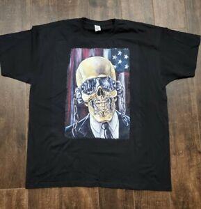 Megadeth Vic Rattlehead Delta Mens Graphic T-Shirt