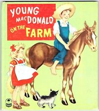 Vintage 1949 Whitman Cozy Corner Book ~ YOUNG MACDONALD ON THE FARM