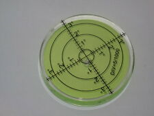 66mm x 10mm Green Audio Hifi  Spirit Level x 1 Circular Accurate