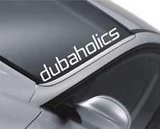 Dubaholics Windscreen Sticker JDM Drift Car Slammed Lowered VW Decal m41