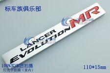 D251 MR Lancer Evolution Auto 3D Emblem emblème Badge Aufkleber Car Sticker