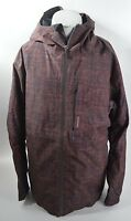 MENS QUIKSILVER INYO INSULATED JACKET $380 L deep woods melange USED