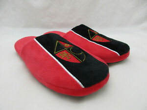 Foco San Francisco 49ers Red and Black Slippers Men's Size Large (11-12)