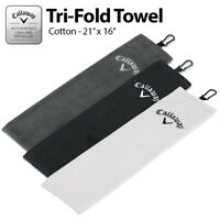 Callaway Golf Towel Tri-Fold *ALL COLOURS* - NEW! 2019