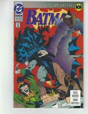 Batman #492/DC Comic Book/Knightfall Begins/NM