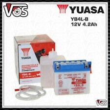 BATTERIA ORIGINALE YUASA YB4L-B 12V 4.2AH UNIVERSALE PER SCOOTER 50CC
