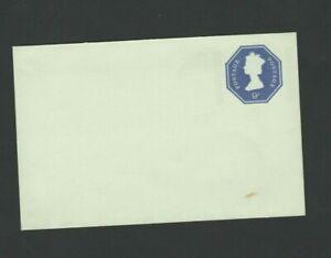 Great Britain GB  -  Postal History NINE Pence Prepaid Envelope