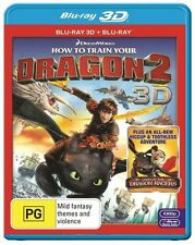 How To Train Your Dragon 2 (Blu-ray, 2014) NEW