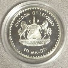 $10 Maloti Kingdom Of Lesotho George Washington