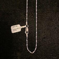 NEW Sterling Silver Chain Fancy Chain 50cm S/S 925 Hallmarked Italian Pretty