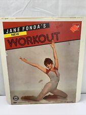 Jane Fonda Workout CED VideoDisc