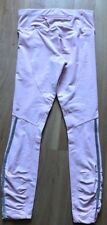 LULULEMON Run Stay On Course Tight Pink Pig size 4 EUC Running Spin Reflective