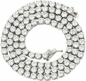 4mm 1 Row Bling Tennis Bracelet Chain Stainless Steel ANTI TARNISH for Men