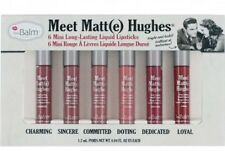 The Balm AUTHENTIC Meet Matte Hughes Liquid Lipstick Set Of 6 BNIB