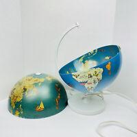 Vintage 1997 Stellanova Walt Disney Globe of the World Lamp For Parts and Repair