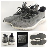 Men's Adidas Alphabounce B89043 Gray Running Sneakers Athletic Shoes Size 9