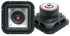 "Pyle Square 10"" Inch 1000w Car Audio Subwoofer Driver Sub Bass Speaker Woofer"