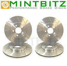 Dimpled And Grooved BRAKE DISCS Front And Rear Mitsubishi LANCER EVO 5 6 7 8 9