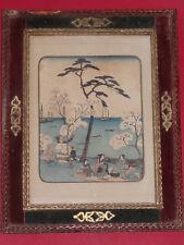 Farbholzschnitt Utagawa Hiroshige Gotenyama yukyo Japan Asiatika Holzschnitt