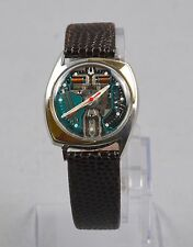 Rare Bulova Accutron Spaceview 14k Solid Gold Chevrons Watch SERVICED OVERHAULED
