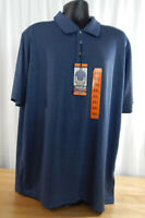 NWT Men's Bolle Short Sleeve Performance Polo w/3 Button Placket