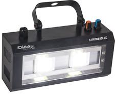 IBIZA STROBE40LED LED STROBOSKOP 2x20 Watt DEKO PARTY DISCO MUSIK CLUB DJ