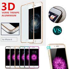 Vitre film protection verre trempé écran intégral 3D ALUMINIUM iPhone 7/6/6S/8/+