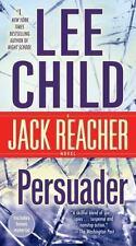 PERSUADER ~ LEE CHILD ~ LARGE PAPERBACK ~ JACK REACHER SERIES NOVEL ~ THRILLER